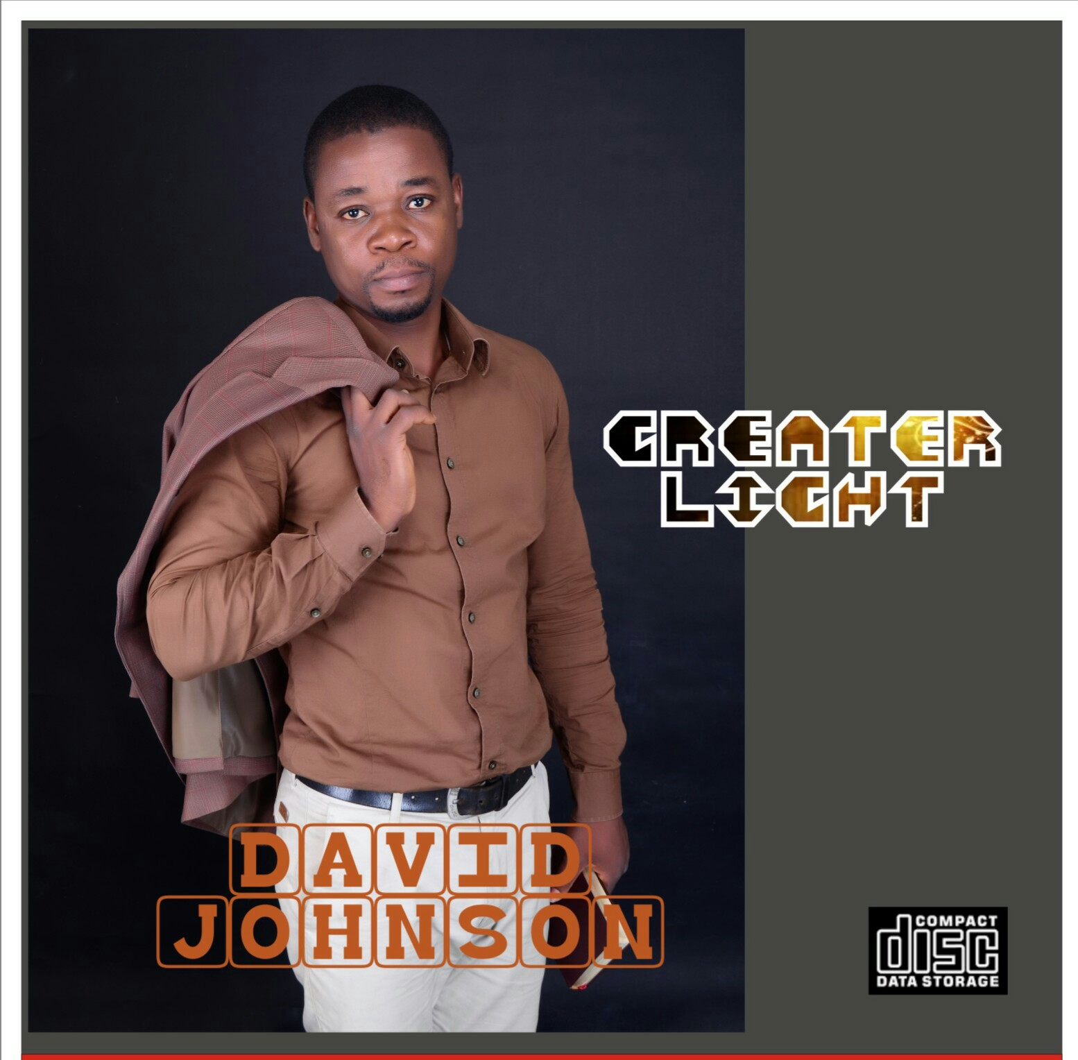 Art Cover for GREATER LIGHT by David Johnson