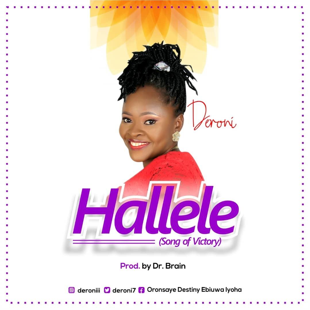 Lyrics Video: HALLELE (Song Of Victory) - Deroni  [@deroni7]