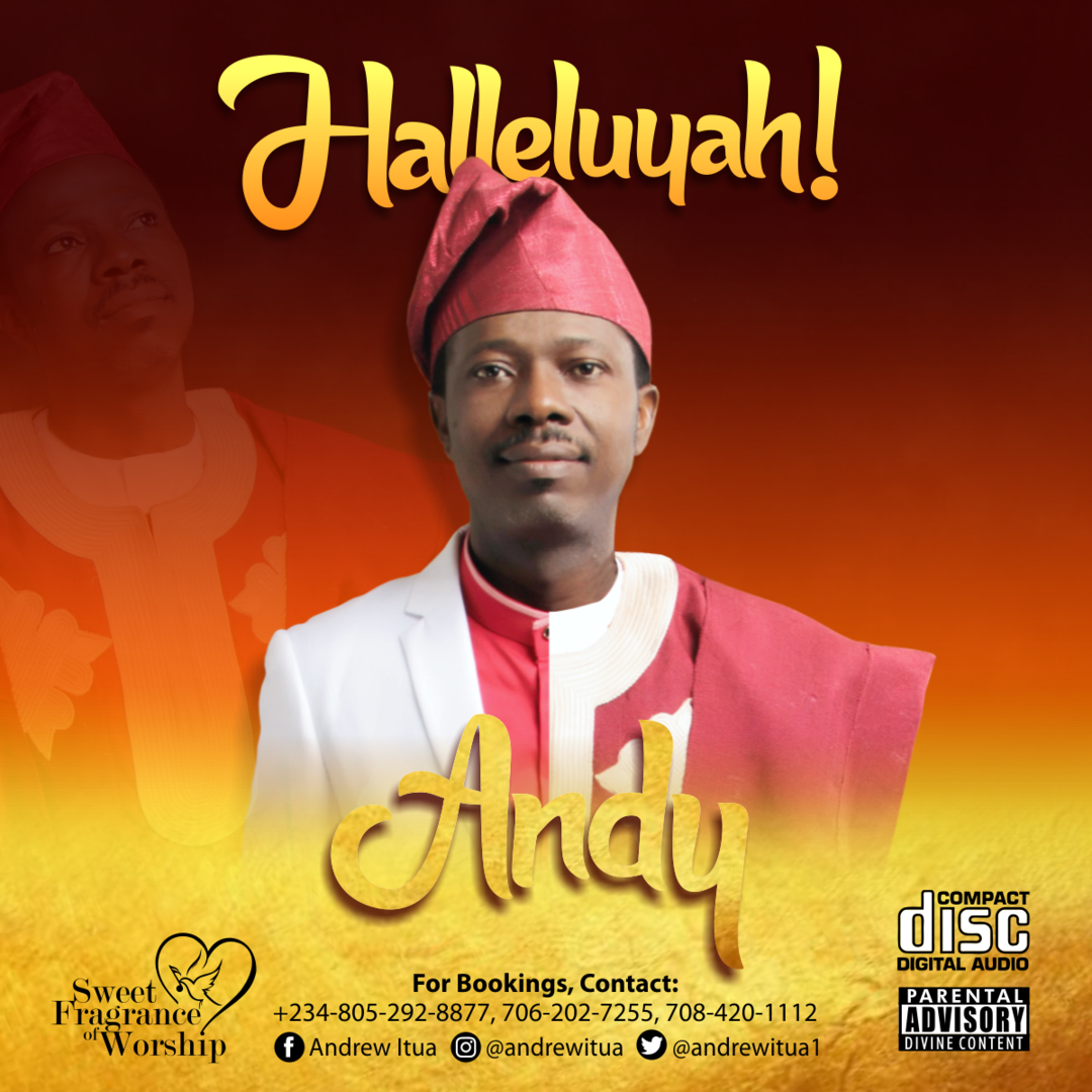(Lyrics Video) HALLELUYAH - Andy Itua