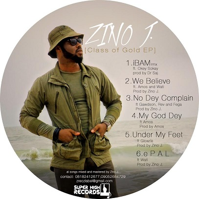 Class Of Gold EP - Zino J [@emozino]