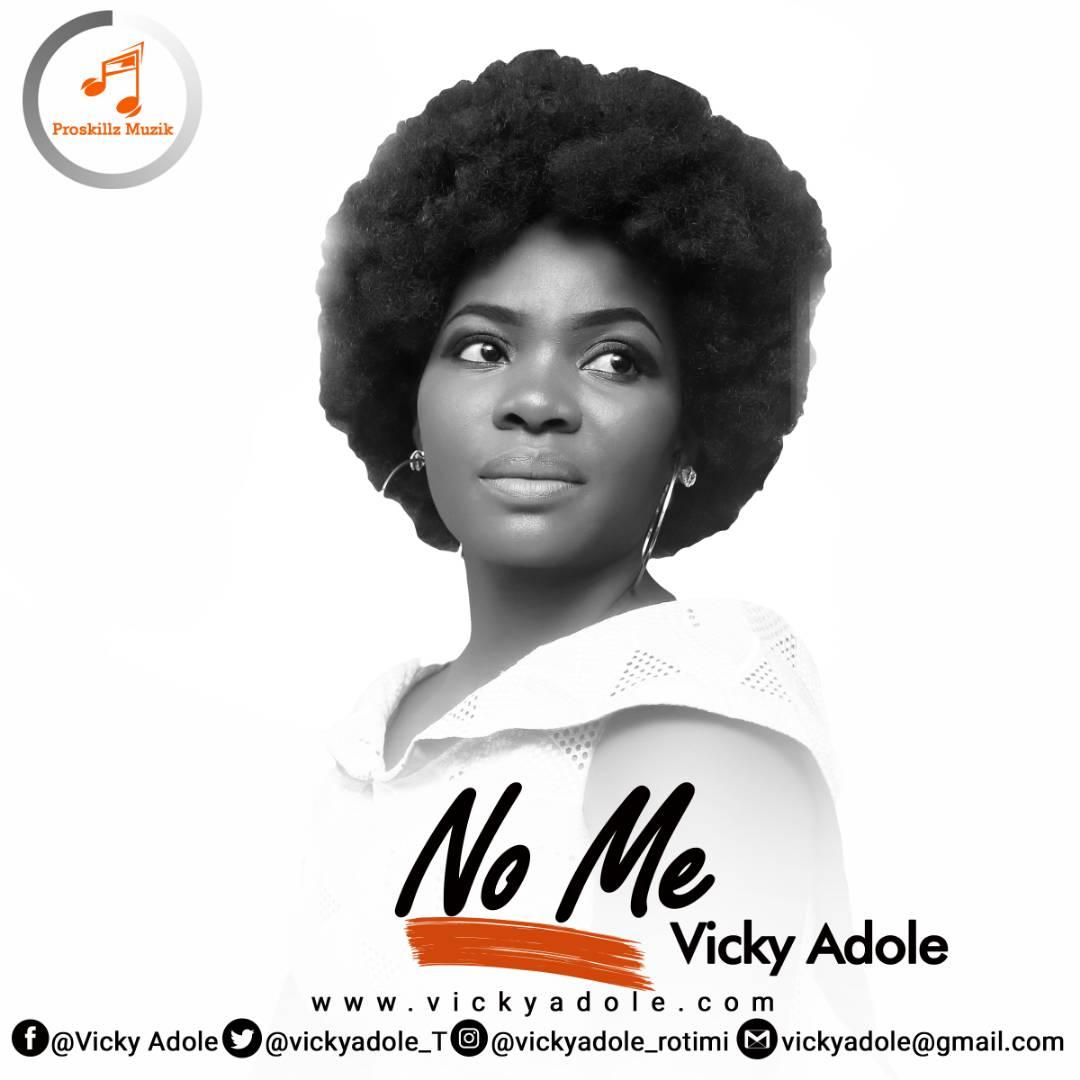 NO ME + JESUS - Vicky Adole [@vickyadoleT]