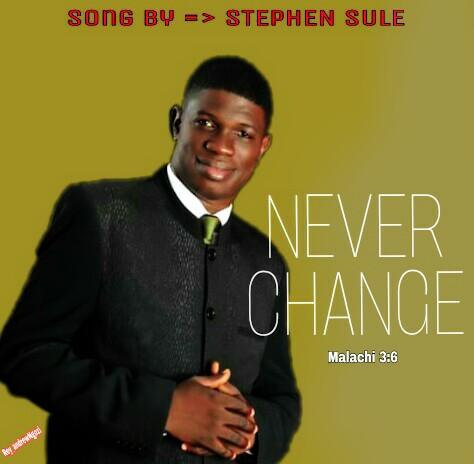 NEVER CHANGE - Stephen Sule [@reycommmedia]