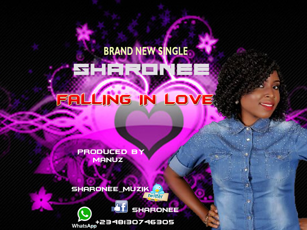 FALLING IN LOVE - Sharonee [@Sharonee_muzik]