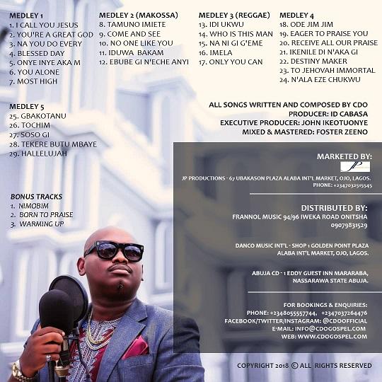 cdo track list