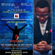 Thobbie [@thobbieolubiyi] introduces a new Worship Experience tagged E-Worship