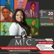 OPEN MIC SESSION with Emmanuel Oluwole, Efe Nathan & Friends tagged ONE SONG