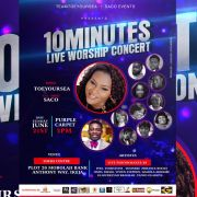 TOEYOURSEA in 10 MINUTES LIVE WORSHIP CONCERT