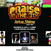 City FM 105.1 Presents Praise In The City 2016