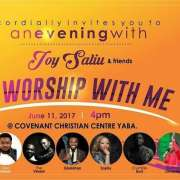 WORSHIP WITH ME with Joy Saliu & Friends