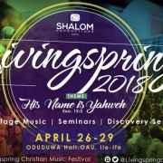 Livingspring 2018 (His Name Is Yahweh)