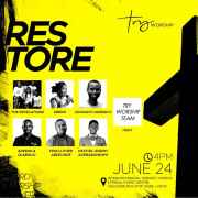Try Worship Hosts RESTORE Conference 2018 - June Edition