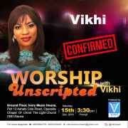 WORSHIP UNSCRIPTED with Vikhi