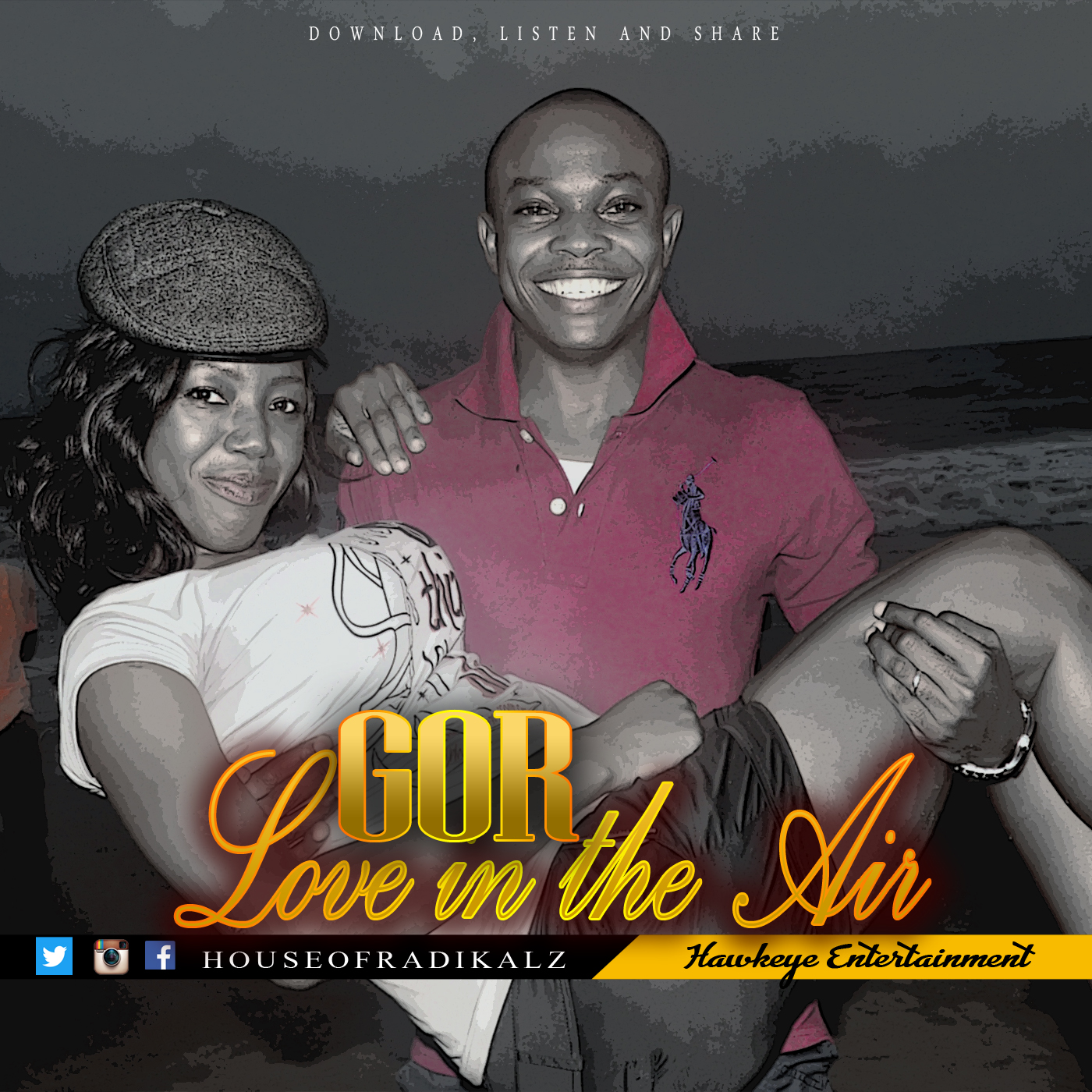 LOVE IN THE AIR by GOR Art Covers [@houseofradikalz]